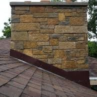 Roof Replacement - Chimney Flashing