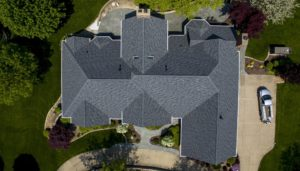 Resources - Overhead picture of house with new shingles