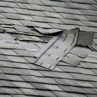 Insurance Work - Wind Damage to Roofing
