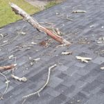 Roof Repair - Tree Damage to Roofing