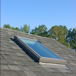 Roof Replacement - New Skylight