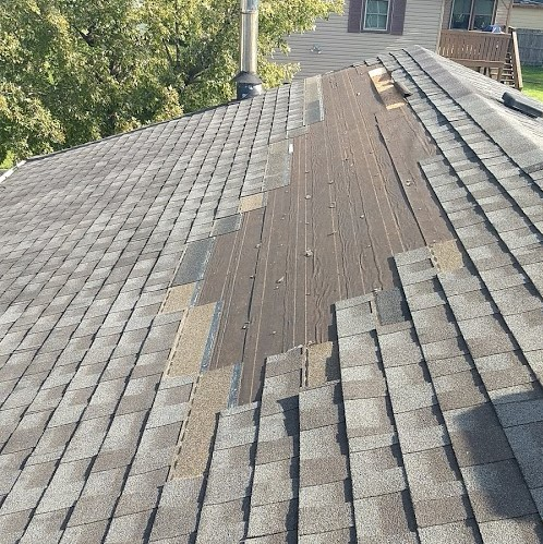 Roof Repair - Other Wind Damage to Roofing