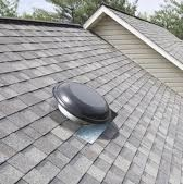 Roof Replacement - New Power Vent